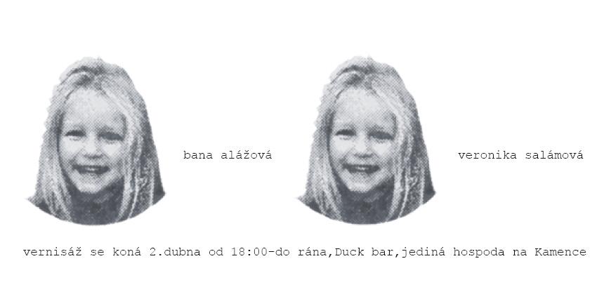 Bana Alážová & Veronika Salámová (Duck bar)