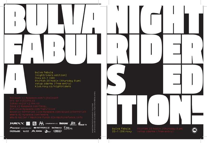 Bulva Fabula Nightrider's Edition (Roxy)